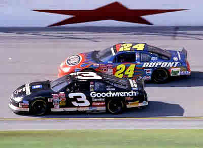 Description: Description: My Hero Dale Earnhardt's last ride along with my Buddy Jeff Gordon at the Daytona 500, February 18, 2001.  The two best drivers to EVER take the green flag in a NASCAR race - side-by-side racin'.  I wear #3 around my neck on a gold chain and will for the rest of my days!  If Dale only knew how many of us he inspired.....see for yourself www.FastSS.com and www.SS427.com